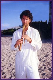 Armand with flute